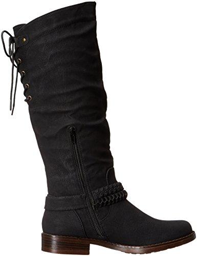 Boot XOXO Montana Schwarz Damen Harness qqp4wUZt