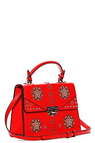 LA CARRIE BAG Borsa Rosso Donna Pegaso Art 181-G-220-EV ROSSA P18