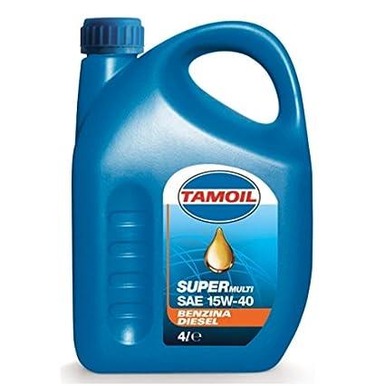 TAMOIL 4 Lt Aceite de motor Super Multifuel SAE 15W 40-auto gasolina gas diesel