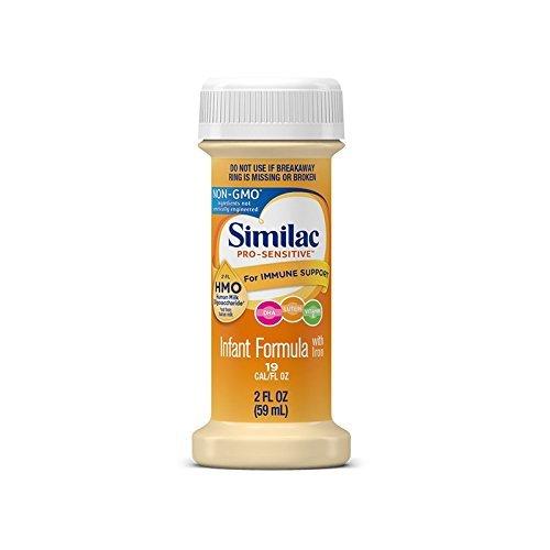 Similac Pro Sensitive with IRON OptiGro NonGMO (48, 2 oz bottles)