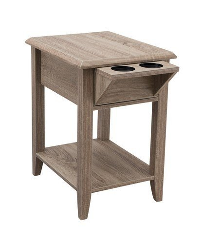 Indoor Multi-Function Accent Table Study Computer Home Office Desk Bedroom Living Room Modern Style End Table Sofa Side Table Coffee Table Storage chair side table DASII