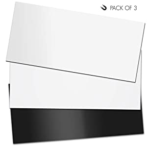 """Premium Magnetic Vent Covers (3-Pack, 5.5""""x12""""x1.5mm)   Anisotropic Magnets for Air Grills, Registers, Vents in Homes, RVs, HVAC Units, Floor and Furnace   by Novaax"""