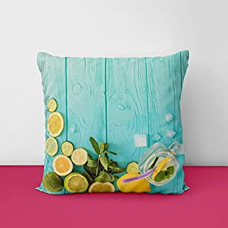 41J pQgWV%2BL. SS320 Lemon Designs Printed Square Cushion Cover