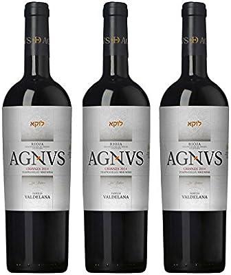 valde lana Agnus de Crianza España Vinos 2011 (3 x 0.75 l): Amazon.es: Alimentación y bebidas