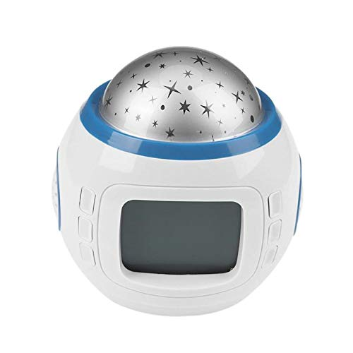 Wake Up Light,Reloj Despertador Digital Led Snooze Estrella ...