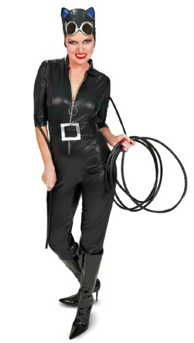Catwoman Costume For Sale (Secret Wishes Batman Sexy Catwoman Costume, Black, Medium)
