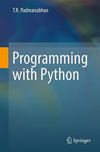 Programming with Python by Springer