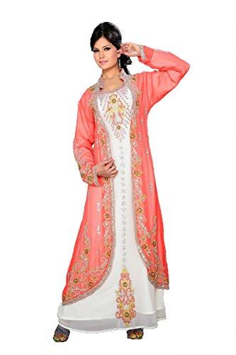 Dubai Tunika Farasha Kleid Women's Jalabiya KKPF17273 PalasFashion Maxi Style qCdwRqE