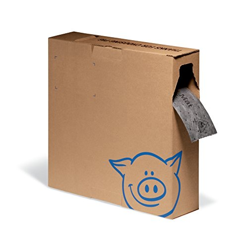 PIG Absorbent Mat Roll in Dispenser Box - MAT4150-GY by New Pig Corporation