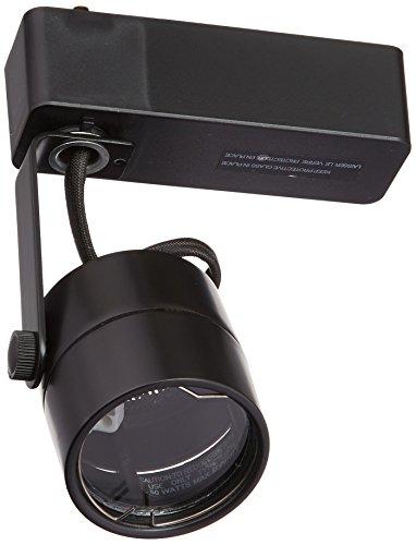 Juno Lighting R701BL Trac-Lites Cylinder Low Voltage MR16 Lamp Holder, Black