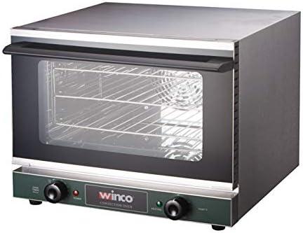 Winco ECO-250 0.8 Latest item Cu.Ft Oven Countertop Quarter-Size Convection SALENEW very popular!