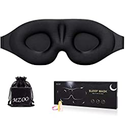 Sleep Eye Mask for Men Women, 3D Contour...