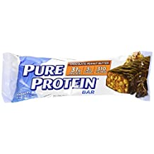 Worldwide Sports Nutrition Pure Protein Bar Chocolate Peanut Butter -- 12 Bars by Worldwide Sport Nutrition