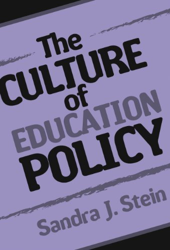 Download By Sandra Stein - The Culture of Education Policy: 1st (first) Edition pdf epub