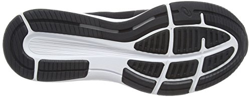 Asics Women's Roadhawk Ff Training Shoes, Grey Multicolour (Black/Silver/White)