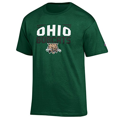 - NCAA Champion Men's Push Ahead Short sleeve T-Shirt Ohio Bobcats Medium