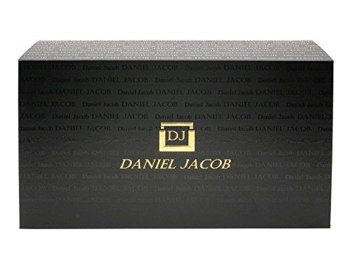 Daniel Jacob Herren Oxford Alle Leder Glatte Kalbs Schuhe Braun Größe