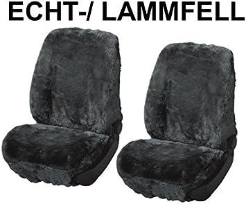 universal Autositzbezug aus Lammfell anthrazit
