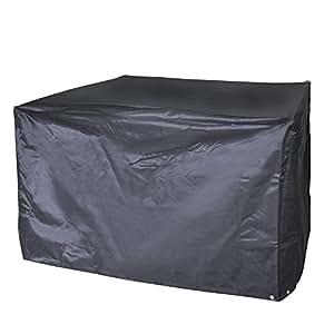 Vivo© de patio impermeable seco Cubierta de muebles de jardín de ratán Cube resistente impermeable a prueba de agua