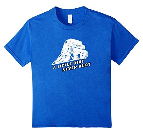 A-Little-Dirt-Never-Hurt-Off-Road-4x4-T-shirt