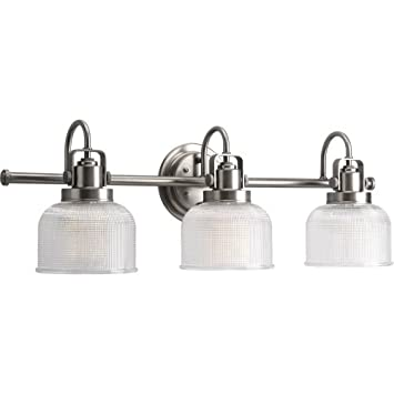Progress Lighting P2992 81 Archie Three Light Bath Vanity Antique