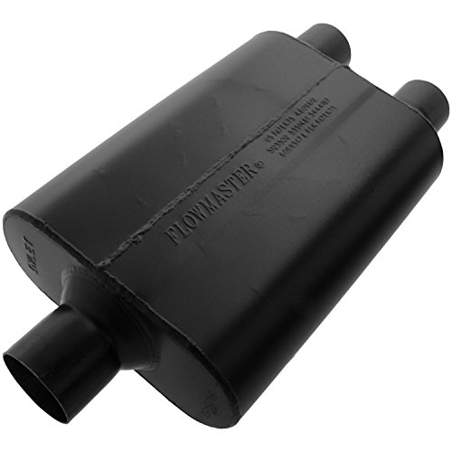 Flowmaster 9425452 Super 44 Muffler - 2.50 Center IN / 2.25 Dual OUT - Aggressive Sound ()