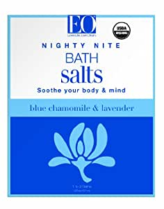 EO Bath Salt Nighty Nite, Blue Chamomile and Lavender, 1.87 Ounce (Pack of 3)
