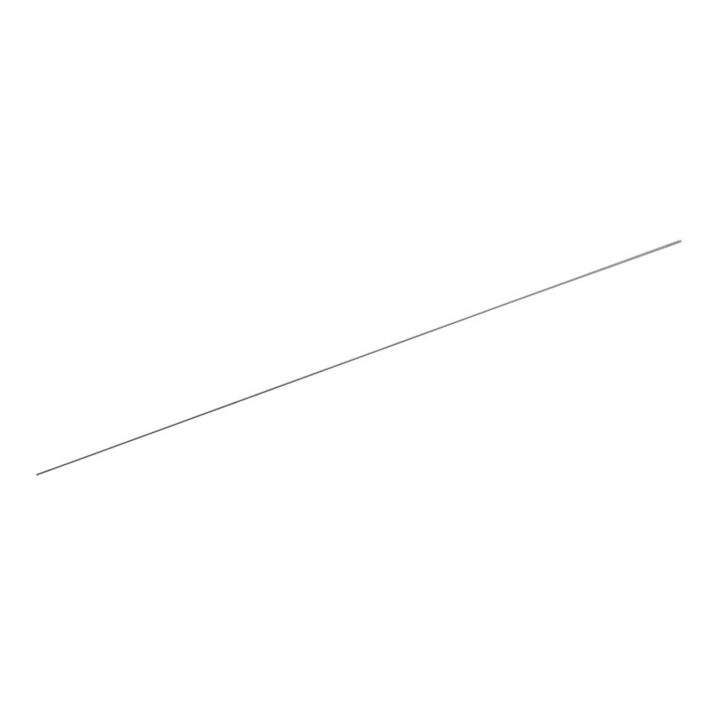 Yibuy 0.1mm Dia Silver Steel Needle Gauge for Precision Instrument Measurement