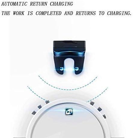 Nettoyeur Balayer Robot Aspirateur robot, Vadrouille simultanément for sols durs Tapis Run 150 minutes avant automatiquement charge hsvbkwm 1yess
