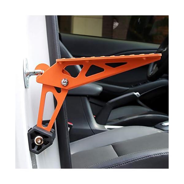 41J PHATRIP Auto Türstufe Klappbare Autotür Pedal Klappleiter für Autos Unkompliziert aufs Dach Zu Kommen Universal Doorstep…