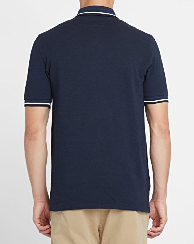 Fred Perry Fp Twin Tipped Shirt, Camiseta para Hombre Service Blue