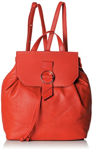 Liebeskind Berlin - Backpackm Worldt, Femme Rouge Sac à main / sac à dos (liebeskind Red 3126)