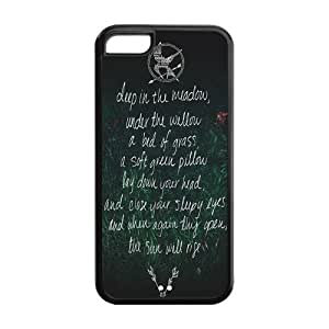 Hunger Games Design TPU Snap On Back Case For iphone 5/5s iphone 5/5s, cellphone accessories
