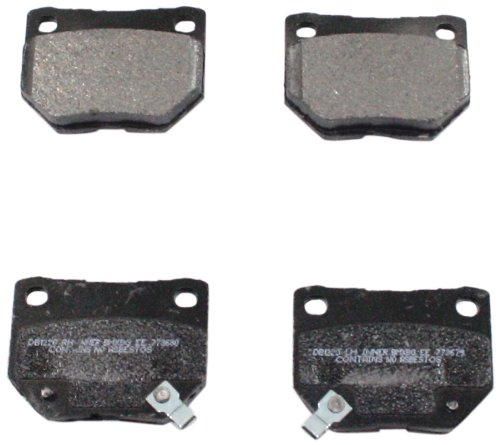 DuraGo BP461 C Rear Ceramic Brake Pad