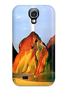 Anti-scratch And Shatterproof Windows 7 Flying Man Phone Case For Galaxy S4/ High Quality Tpu Case