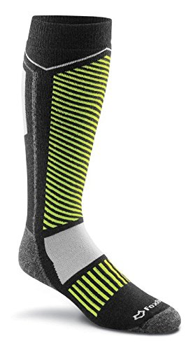 Fox River Ski Socks (FoxRiver Wild Mountain Over-The-Calf Cold Weather Ski Socks, Large, Black)