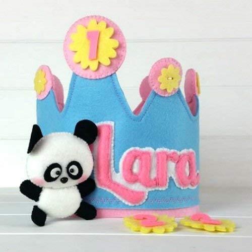 Corona Cumpleaños Oso Panda: Amazon.es: Handmade