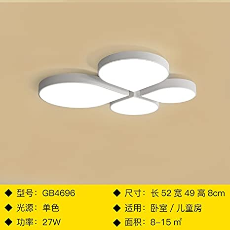 Nordic Simple Creative Living Room Ceiling Lamp Modern Remote Control Bedroom Ceiling Lights Warm Romantic Led Light Fixtures Ceiling Lights & Fans