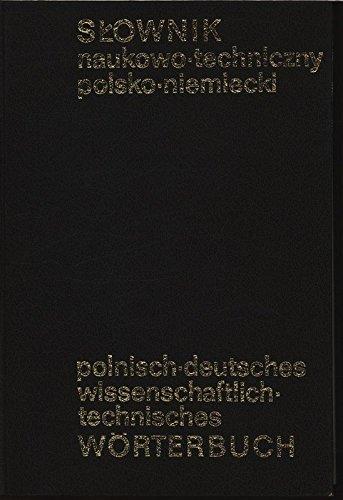Polnisch Deutsches Wissenschaftlich   Technisches Wörterbuch   Skownik Naukowo Techniczny Polsko Niemiecki