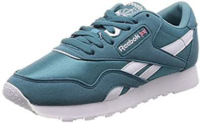 Reebok Classic Nylon, Women's Sneakers, White, 4 UK (36 EU)