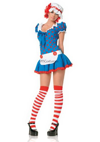 83202 X-Small Raggedy Ann Rag Doll Adult Costume