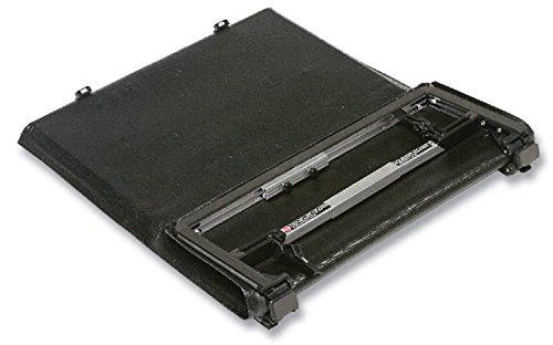 Torza Top - Advantage Truck Accessories 73024 Black Torza Top Soft Folding Tonneau Cover