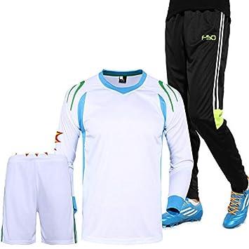 Shi18sport - Camiseta de fútbol 3 en 1 (Jersey + Pantalones Cortos ...