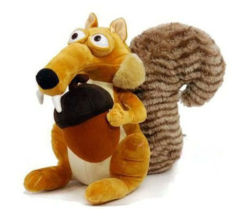 1-X-Ice-Age-3-Plush-79-20cm-Scrat-Squirrel-Doll-Stuffed-Animals-Figure-Soft-Anime-Collection-Toy