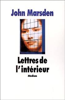 Lettres de l'intérieur par Marsden