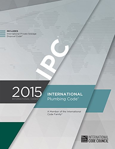 2015 International Plumbing Code (Includes IPSDC) by ICC (distributed by Cengage Learning)