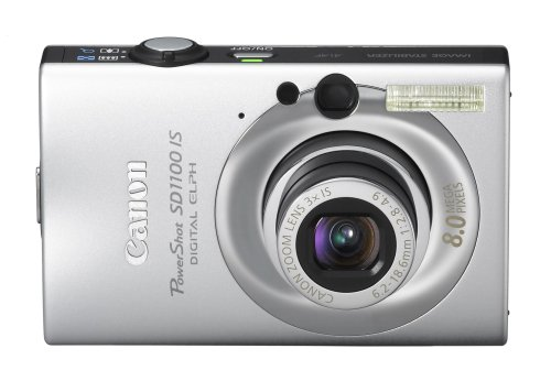 Canon PowerShot SD1100IS 8MP Digital Camera with 3x Optical Image Stabilized Zoom (Silver) Canon Powershot Sd1100 Digital Camera