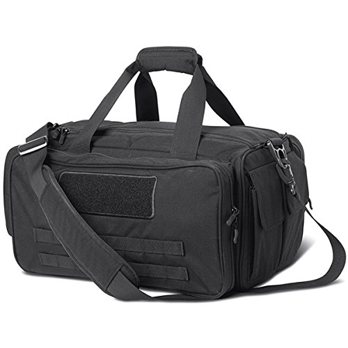 Cannae Pro Gear Armory Range Bag (Black, Medium) by Cannae Pro Gear
