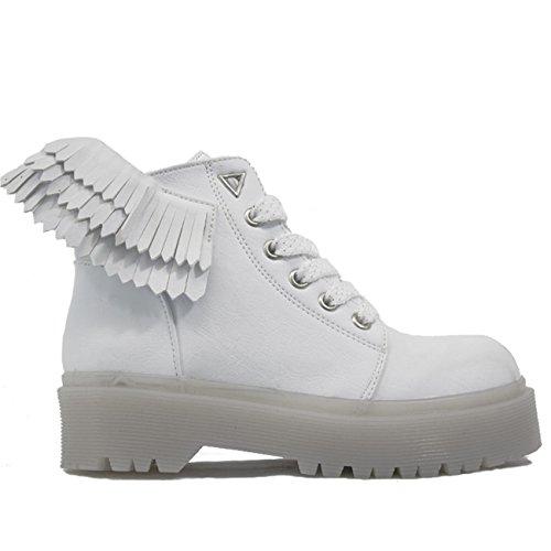 boot YRU Angyl white Slayr combat wqAa8q