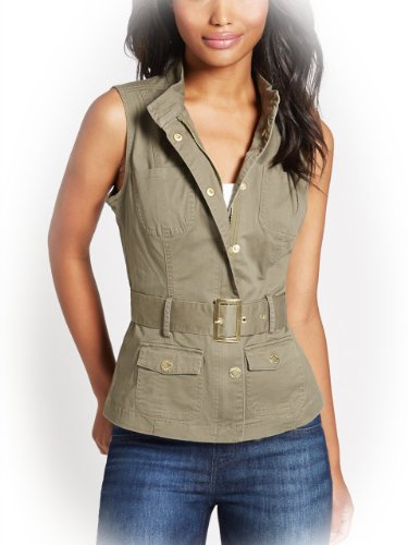 G by GUESS Women's Rowan Anorak Vest